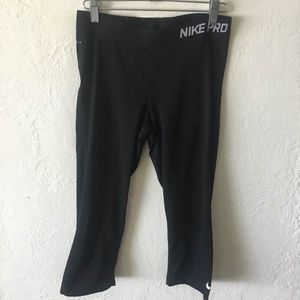 Nike Crop Leggings Work Out